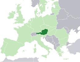 Avstrija lokacija