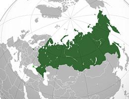 Rusija lokacija